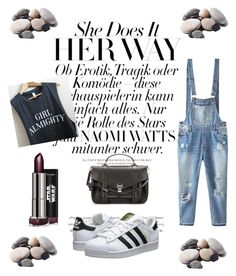 """""""Untitled #134"""" by cris-conde ❤ liked on Polyvore featuring Relaxfeel, adidas Originals, Proenza Schouler and Quarry"""
