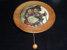 VIntage Music Box from West Germany.Wall- Hanging Music Box, Swiss Movement. on Etsy, $15.00