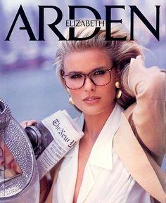 Elizabeth Arden, late 80s Model : Vendela Kirsebom