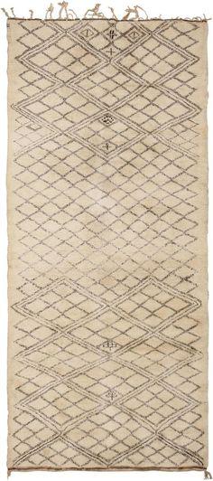 Vintage Moroccan Rug #45736