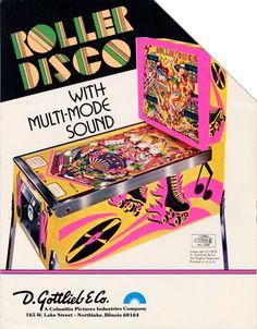 Roller Disco pinball machine (c. late 1970s)