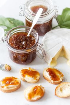 My family's fig jam recipe passed down over 3 generations. It's easy to … My family's fig jam recipe passed down over 3 generations. It's easy to make, perfect for serving with brie for an easy appetizer, and so delicious! Jam Recipes, Dinner Recipes, Cooking Recipes, Juicer Recipes, Jelly Recipes, Party Recipes, Recipies, Healthy Recipes, Quick Appetizers