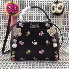 3f434a8b2d10 34 Best Fendi Peekaboo handbag 2017 images | Hand bags 2017, Spikes ...