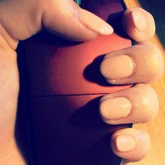 New #nails :) #hybryd @oldzi_gdynia #trendy #polishgirl #cream
