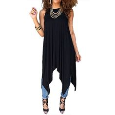 Personality Women Sexy New Loose Casual Party Club Sweet Cute Hot Top Vest Dress    Prices & see more follow the link:  http://amzn.to/2suZgG8