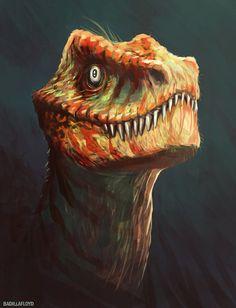 velocirapor by badillafloyd