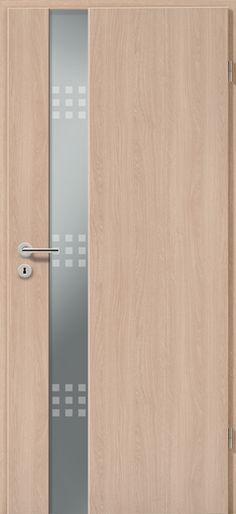 Porta modello 1C in #legno listellare. Rivestimento #esterno in ...
