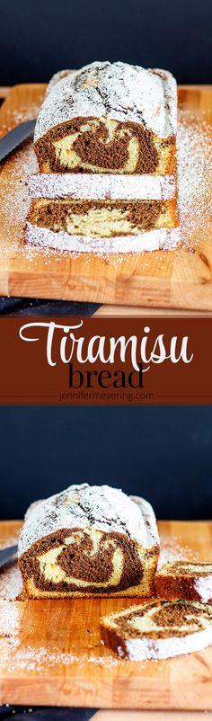 Tiramisu Bread | JenniferMeyering.com