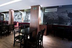 Adesivação de paredes para restaurante japonês Tokyo House