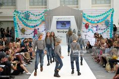 Models walk the runway during 'The Petite Fashion Week' at the Cibeles Palace on October 6, 2017 in Madrid, Spain.  (Photo by Carlos Alvarez/Getty Images)
