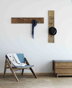 12 Fabulous DIY Coat Rack Ideas - image a whole wall pegboard in the foyer to hang coats, purses, and scarves