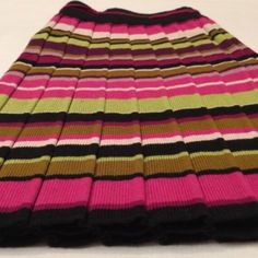 MISSONI Pleated Skirt MISSONI for Target pleated knit skirt. Brand new but without tags! A-line style. Multicolored. Pictures are true to color. Looks great with black tights for the season. Fashionable and eye catching! Missoni for Target Skirts Mini