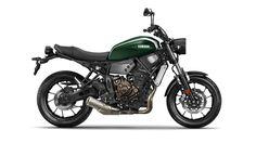 """A Yamaha apresentou esta terça-feira a novaXSR700 , uma edição custom da MT-07 que estará disponível nos concessionáriosno final deste ano. Este modelo vai fazer parte da família""""Sport Heritage"""", da qual fazem também parte a XJR1300 Racer e a XV950 Racer"""