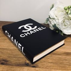 Fashion Designer Book Labels (Chanel USD The Effective Pictures We Offer You About Book Des Fashion Coffee Table Books, Fashion Books, Chanel Coffee Table Book, Chanel Book Decor, Giant Shoe Box, Make Your Own Coffee, Book Labels, Book Safe, Brand Book