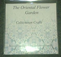 The Oriental Flower Garden CD Rom by CelticmoonCraftsShop on Etsy