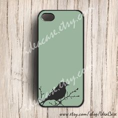 Bird iphone 5 case - Bird iphone 4s case , iphone 4 case, Bird Case , iphone cover , iphone case Bird