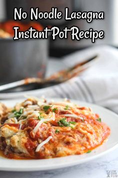 Want a super-easy keto Instant Pot recipe? This keto Instant Pot lasagna is low in carbohydrates and a breeze to make in the pressure cooker. Hash Browns, Tapenade, Hard Boiled, Sushi, Low Carb Recipes, Beef Recipes, Kraft Recipes, Camping Recipes, Lasagna Recipes