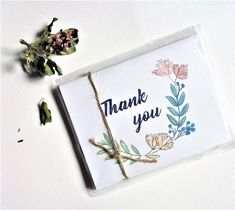 Items similar to Printable Thank you cards 5 files Digital Thank you card TIFF and PNG Digital cards Bespoke Thank you cards Simple Notecard Floral Cards on Etsy Printable Thank You Cards, Custom Thank You Cards, Wedding Thank You Cards, Wedding Invitation Suite, Wedding Stationery, Simply Image, Some Pictures, Diy Cards, Watercolor Art