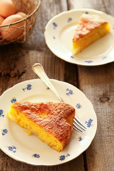 The perfect Sunday afternoon sweet treat: Italian Pear Cake.