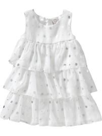 Chiffon Ruffle Dresses for Baby