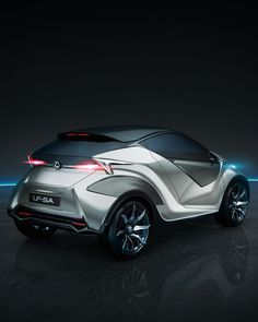 Here's a tiny glimpse at our smallest concept car to date. Designed for the future, its exterior color scheme of Stellar Silver is symbolic of space exploration, while the interior was inspired by the spectacle of a solar eclipse. But as cosmic as the Lexus LF-SA seems, it's built entirely with the maneuverability and agility essential for a true city car. Explore the LF-SA simply by clicking through.