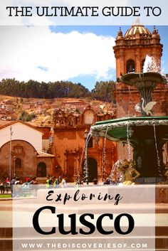 The ultimate guide to Cusco, Peru. Cusco is one of South America's leading destinations full of historical sites and thriving culture. Here's a full guide to travelling to Cusco