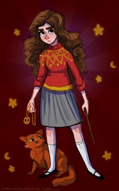 Just started re-reading The Prisoner of Azkaban, and it reminded me of what an incomparable badass Hermione is.