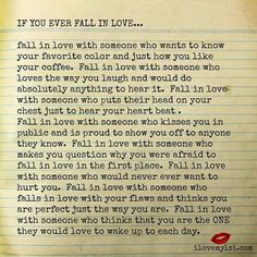 If you ever fall in l♡ve