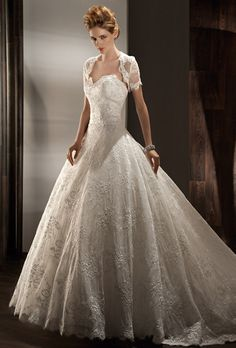 Cinderella wedding dress by Demetrios Brides: Demetrios - Ultra Sophisticates :  1434