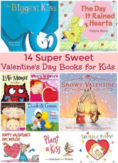 14 sweet Valentine's Day books for toddlers and preschoolers!