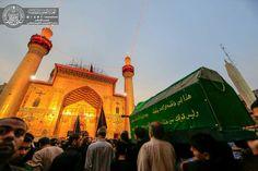 Atmosphere öf the shrine of MAULA A.S ON THE MARTYRDOM OF IMAM Sajjad ( A.S ) #muharramulharam #ayameazaa #Twelver #AhleBayt