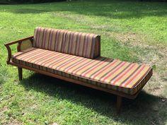 Mid Century Modern Danish Style Lounge Sofa Daybed Vintage 1960'S | eBay