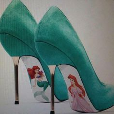 Fantasy shoes - but who could walk in them?