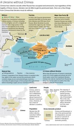 This map shows what the loss of Crimea really means for Ukraine - The Washington Post