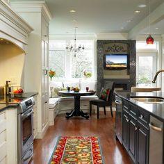 30 Adorable Breakfast Nook Design Ideas For Your Home Improvement - ArchitectureArtDesigns.com