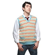 I have wanted one of these for years ...  Doctor Who 7th Doctor's Vest via ThinkGeek