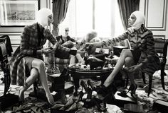 "VOGUE Italia ""Makeover Madness"" by Steven Meisel"