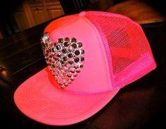 Trucker hat bedazzled im gonna make this