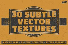 30 Subtle Vector Textures by Matt Borchert on @photoshoplady