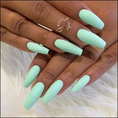 88+ latest acrylic nail designs for summer 2019 page 12 | myblogika.com Matte Nails, Acrylic Nails, Huda Beauty, Nail Art, Makeup, Gorgeous Nails, Coffee Cups, Nail Designs, Fingernail Designs