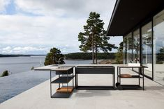Roshults outdoor kitchen and garden furniture