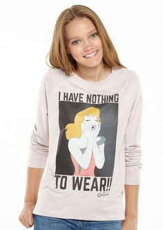 I Have Nothing To Wear Tee - Licensed Graphics - Graphic Tees - dELiA*s