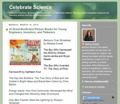 10 Great Nonfiction Picture Books for Young Engineers, Inventors, and Tinkerers http://celebratescience.blogspot.com/2015/03/10-great-nonfiction-picture-books-for.html