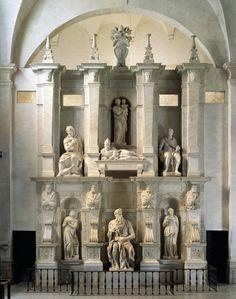 La Tomba di Giulio II a San Pietro in Vincoli a Roma, capolavoro di Michelangelo