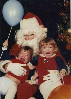 Santa's face