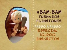 Bam Bam - Flintstones air dry clay / polymer clay tutorial