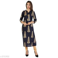 Kurtis & Kurtas Women's Printed Cotton Kurti Fabric: Cotton   Sleeves:  Sleeves Are Included Size: M - 38 in L - 40 in XL - 42 in XXL - 44 in Length: Up To 48 in Type: Stitched Description: It Has 1 Piece Of Kurti Work: Printed Country of Origin: India Sizes Available: M, L, XL, XXL   Catalog Rating: ★4.2 (462)  Catalog Name: Free Mask Alisha Stylish Designer Kurtis Vol 7 CatalogID_278291 C74-SC1001 Code: 923-2100482-378
