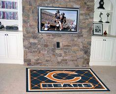 MY TEAM MATS - NFL - Chicago Bears 5x8 Rug, $199.99 (http://www.myteammats.com/nfl-chicago-bears-5x8-rug/)
