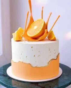 Cake Decorating Designs, Cake Decorating Techniques, Cake Designs, Pretty Cakes, Beautiful Cakes, Amazing Cakes, Pastry Design, Buttercream Flower Cake, Gateaux Cake