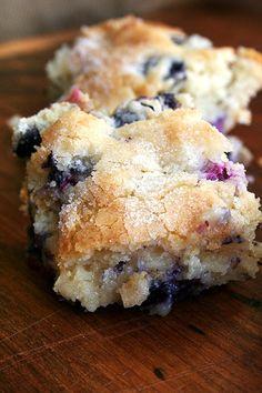 Buttermilk Blueberry Breakfast Cake.